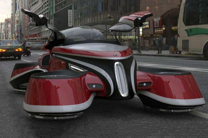 Автомобиль с газотурбинными двигателямим-4 фото-