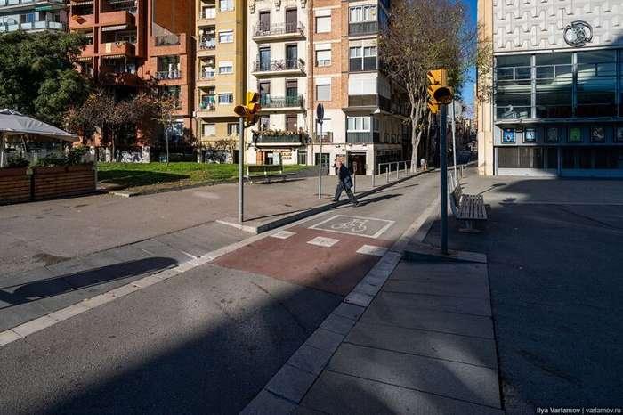 Чудовищная Барселона: диктатура пешеходов и велосипедистов-54 фото-