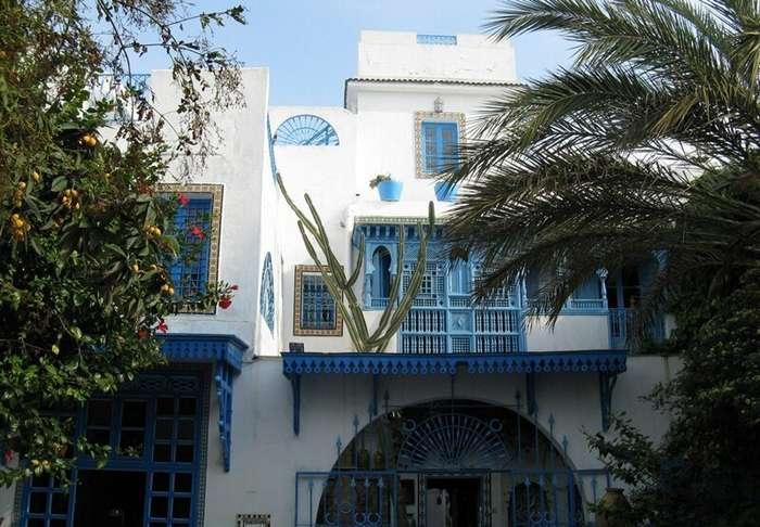 Тунис. «Бело-голубой город» Сиди-Бу-Саид (38 фото)