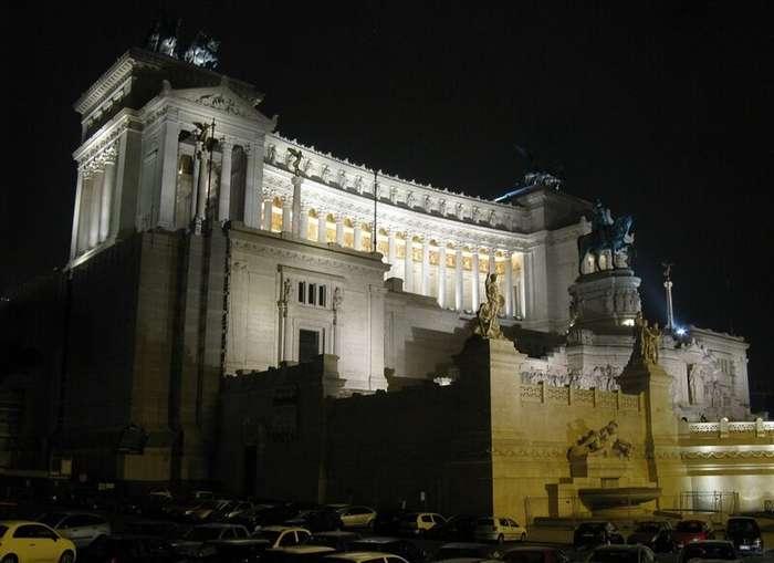 Рим - -Вечный город- днём и ночью-73 фото-