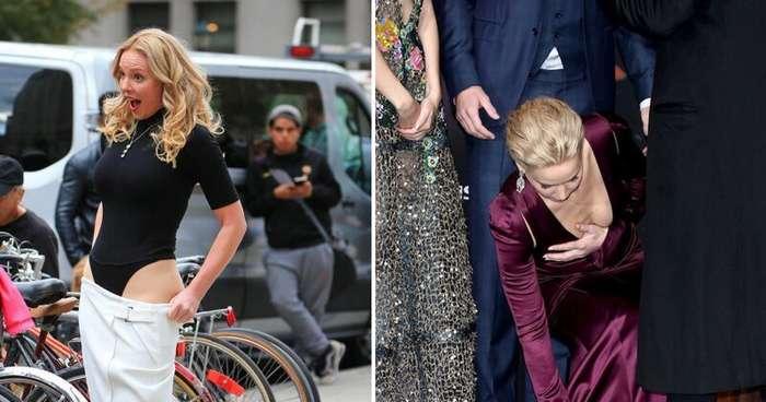 20 ошибок знаменитостей, которые заставят вас краснеть за них (21 фото)