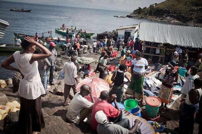 Яблоку негде упасть: остров Мгинго с самой высокой плотностью населения