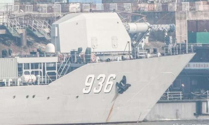 Китай мог установить рельсотрон на военный корабль