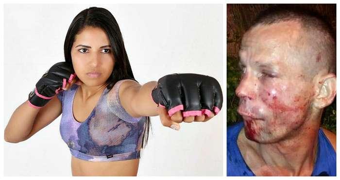Грабитель напал на девушку-бойца UFC и пожалел об этом