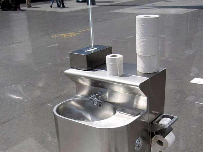 10 общественных туалетов, в которых посетители напрочь забывают о своей -нужде-