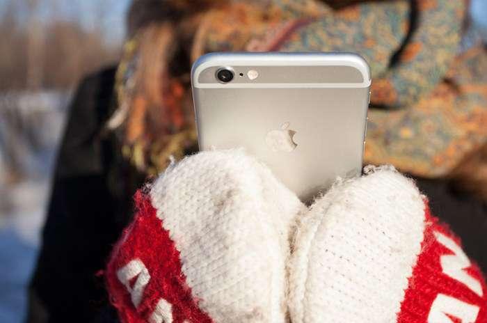 Журналисты проверили батареи лучших смартфонов на устойчивость к морозу