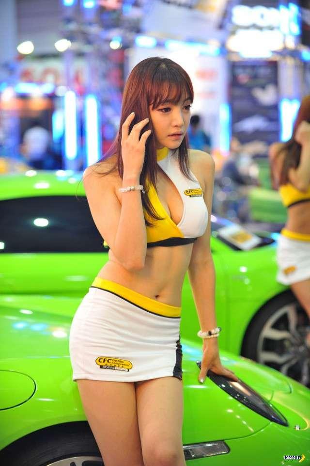 Корейские модели на автосалонах