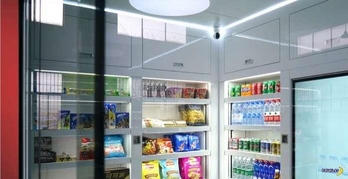 Как вам идея автономного магазина самообслуживания?