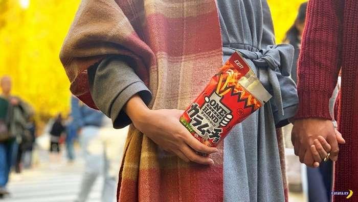 В Японии изобрели -жидкие- чипсы