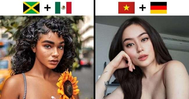 15нетипичных красоток, которые появились насвет благодаря смешению кровей разных национальностей
