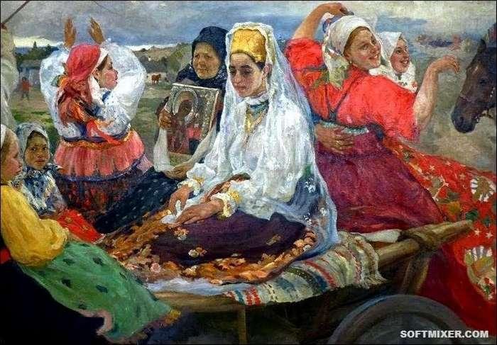 Нетрадиционные браки на Руси-4 фото-