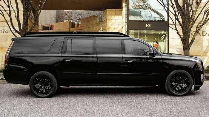Cadillac Escalade превратили в роскошный лимузин (5 фото)
