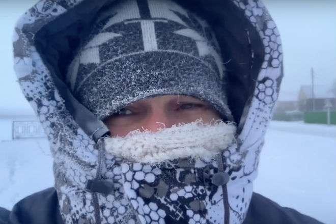 Жизнь зимой в -53