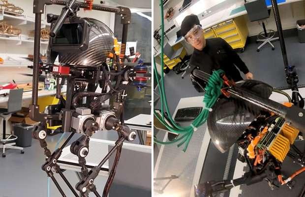 Первый робот, который способен ходить, прыгать и перелетать препятствия -5 фото-