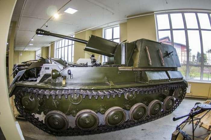Рассказы об оружии. САУ СУ-76М (13 фото + 1 видео)