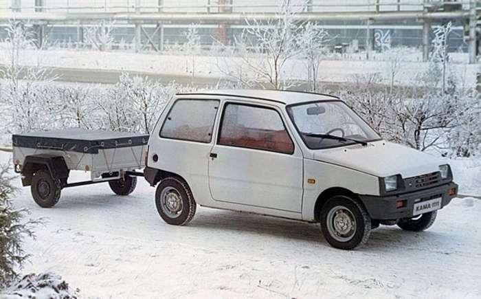 Чем отличались первые прототипы ВАЗ-1111 «Кама» от серийных автомобилей (9 фото)