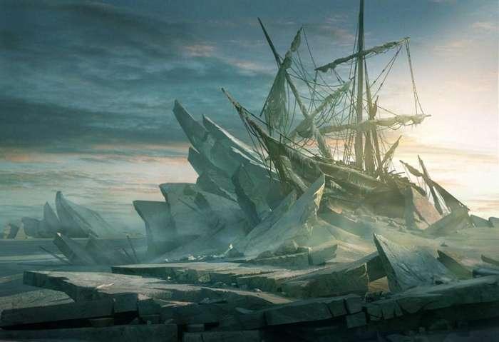 Загадка -Октавиуса-: легенда о корабле-призраке, замерзшем во льдах со всей командой