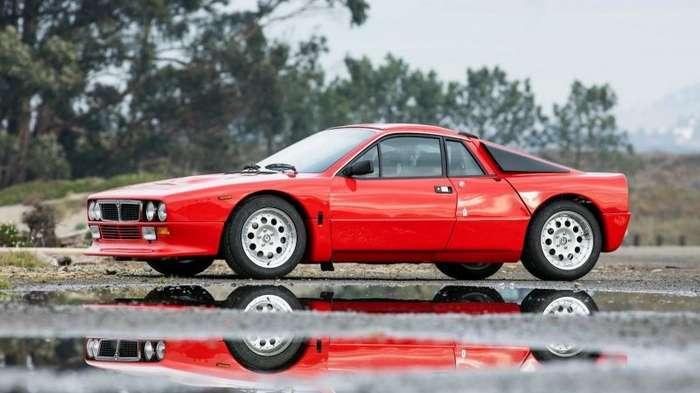 Lancia Rally 037 Stradale, построенная в начале 80-х для чемпионата мира по ралли                     (20 фото)