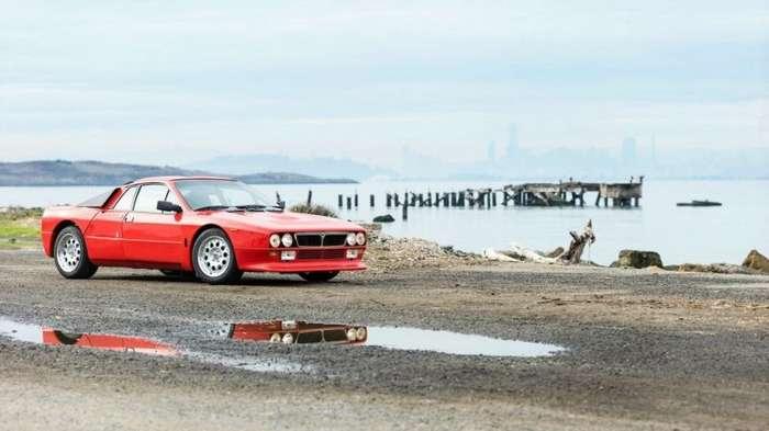 Lancia Rally 037 Stradale, построенная в начале 80-х для чемпионата мира по ралли-20 фото-