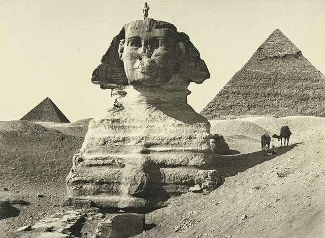 «Отец страха»: какие тайны скрывает египетский Сфинкс (4 фото)