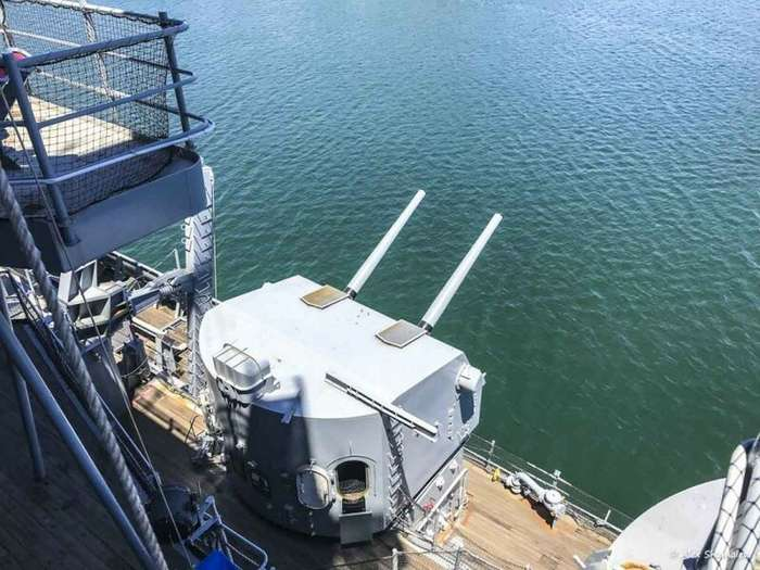 USS Iowa: последний линейный корабль в истории флота-59 фото + 1 видео-