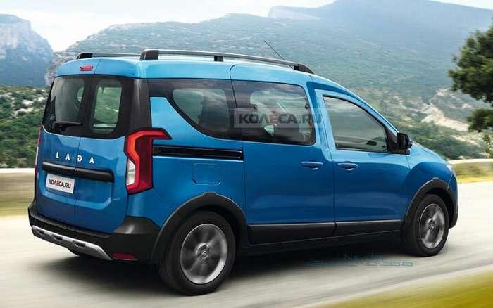 Была анонсирована новая Lada Van 2019-2020 года-7 фото-