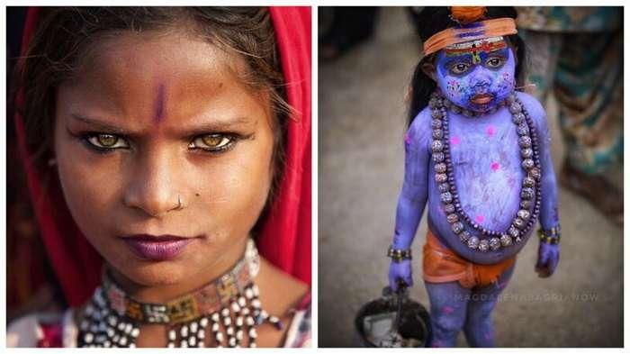 Гипнотические портреты из Индии, от которых невозможно оторвать взгляд (51 фото)