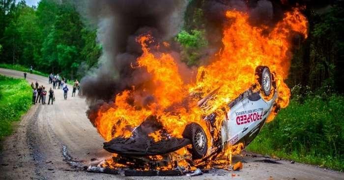 Системы безопасности гоночного раллийного автомобиля-14 фото + 4 видео-