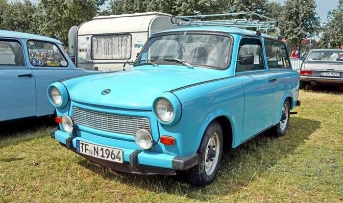 Trabant 601 - народный автомобиль из ГДР-5 фото-
