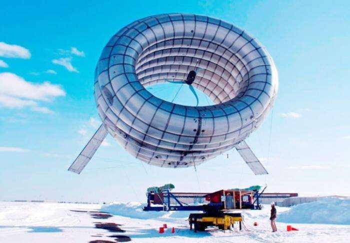 Первую электростанцию с летающими ветряками создадут Shell и Alphabet -2 фото + видео-