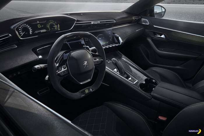 А как вам Peugeot Concept 508 Sedan?