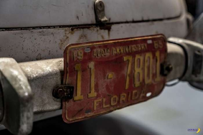 Клад из амбара –Mercedes-Benz 300SL Gullwing Интересное