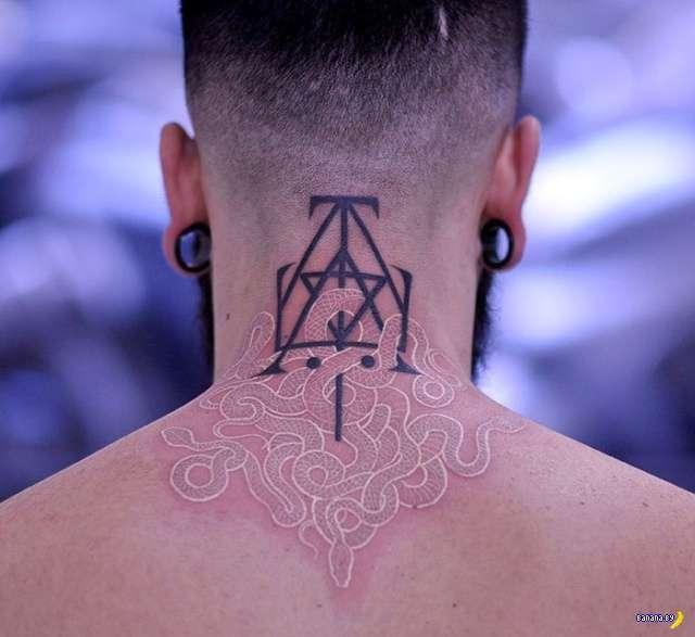 Татуировки на зависть - 116 - Цвет настроения белый!