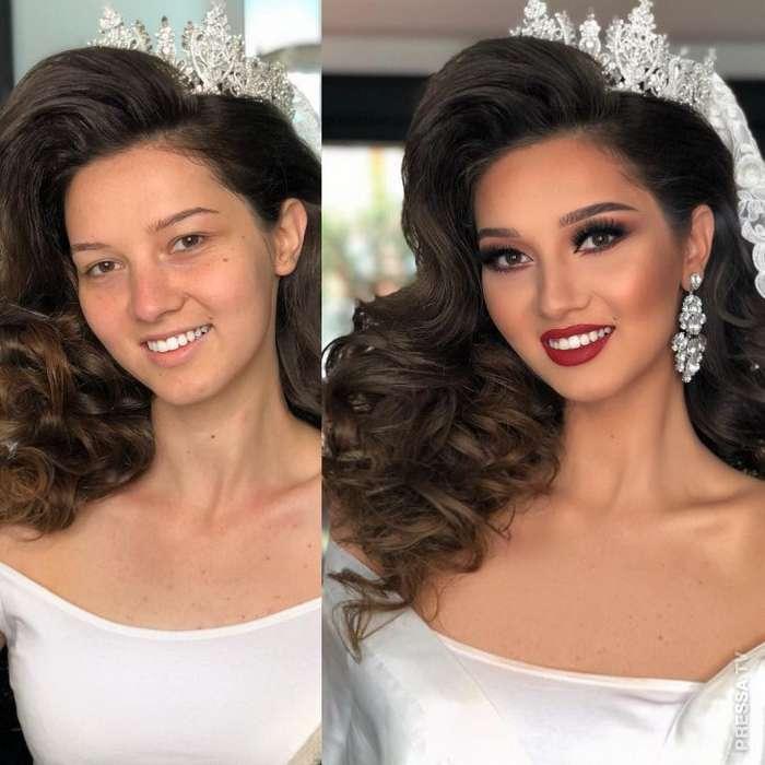 Правильный макияж невесты Интересное