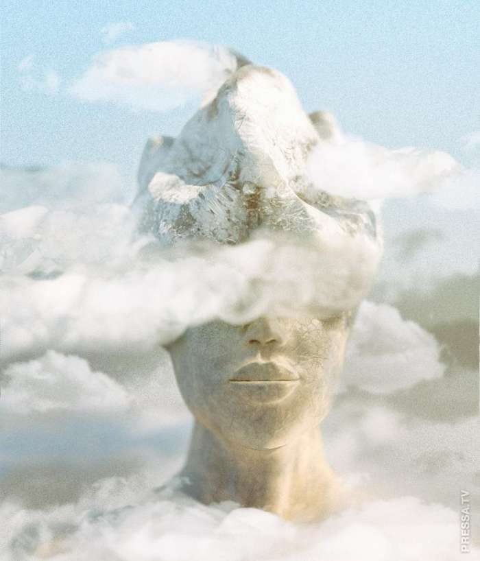 Невероятные сюрреалистичные манипуляции с фотографиями от талантливой самоучки из Санкт-Петербурга Интересное