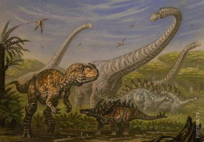 Что погубило динозавров? Интересное
