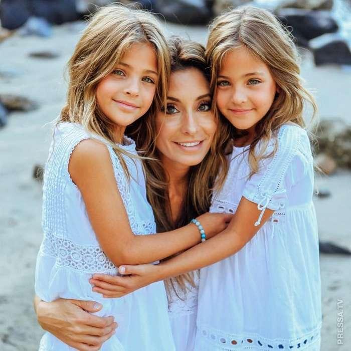 Маму самых красивых девочек в мире критикуют за то, что она делает деньги на их внешности