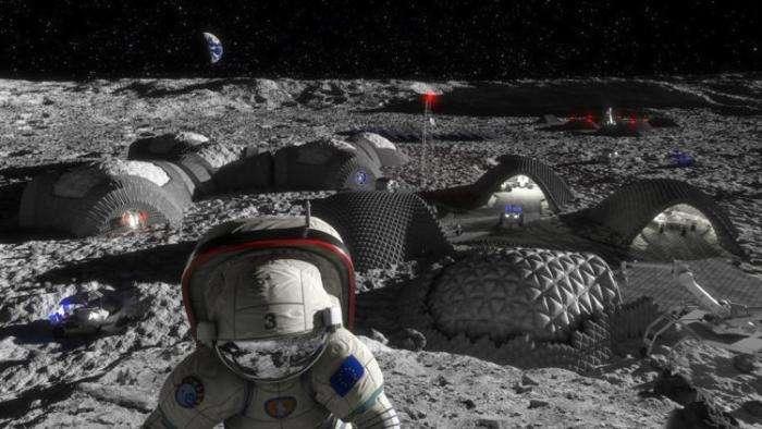 ЕКА разработает новый материал для скафандров лунных колонизаторов