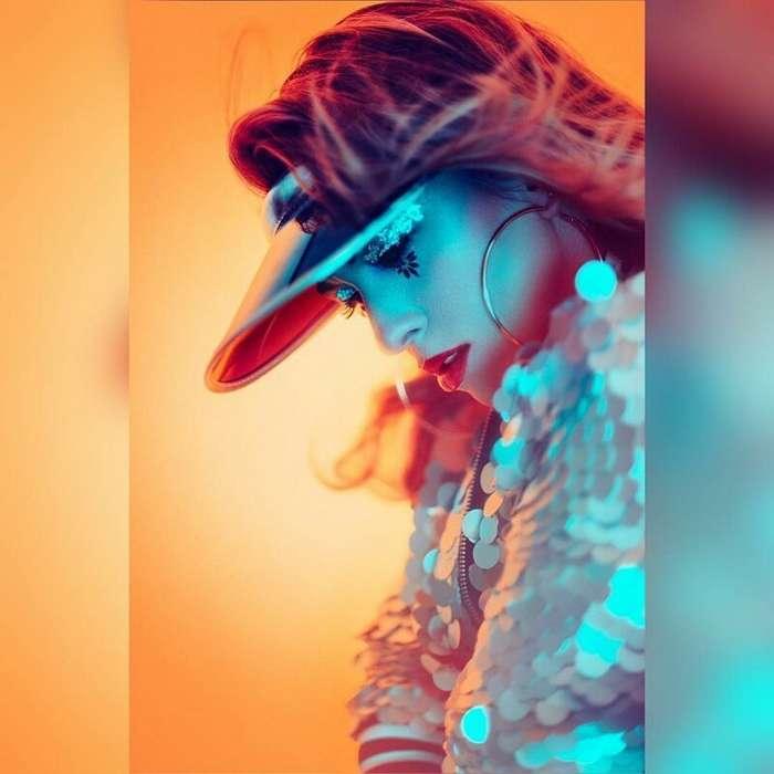 В свете неона: яркая мода в объективе Джейка Хикса-68 фото-