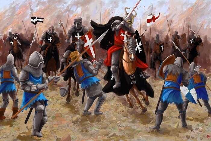Самые смертоносные войска древности-6 фото-