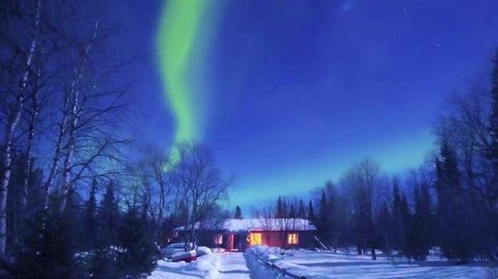 На тысячу звезд: в Финляндии появился отель для любителей северного сияния-1 фото-