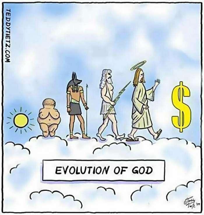 Эволюция прикольные картинки
