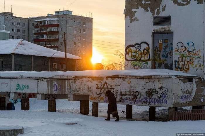 Мирный: город на краю пропасти интересное
