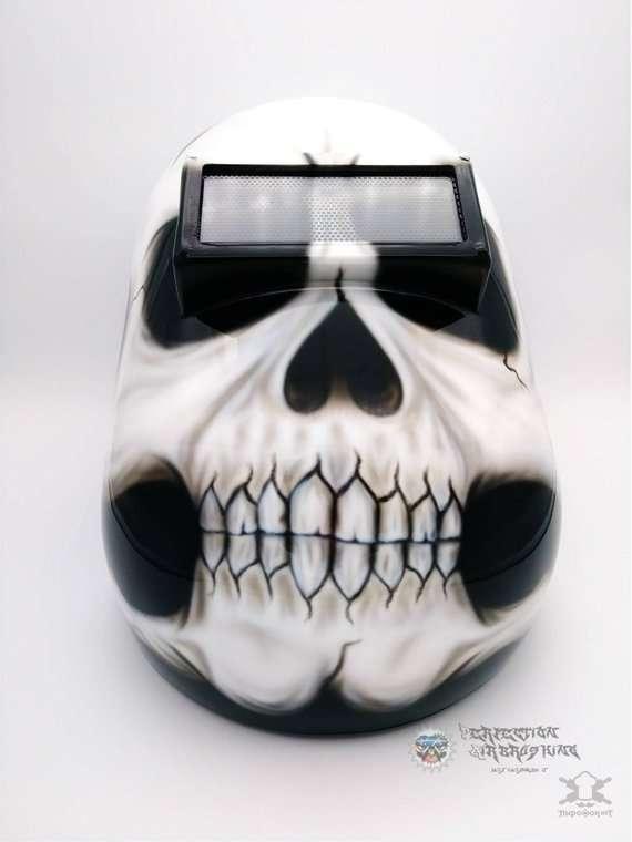 Необычные и прикольные сварочные маски Интересное