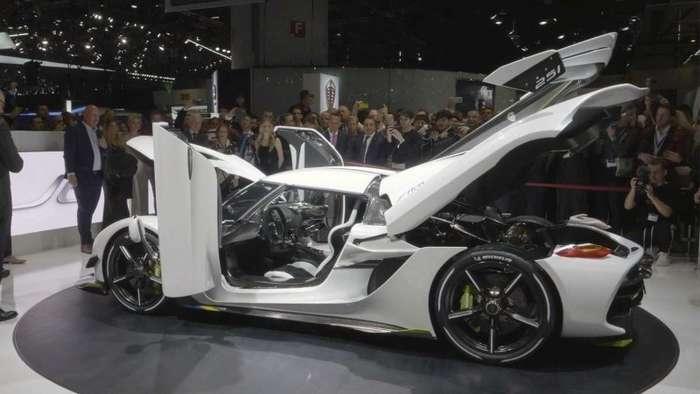 Koenigsegg Jesko: шведский монстр мощностью 1600 лошадиных сил-20 фото + 1 видео-