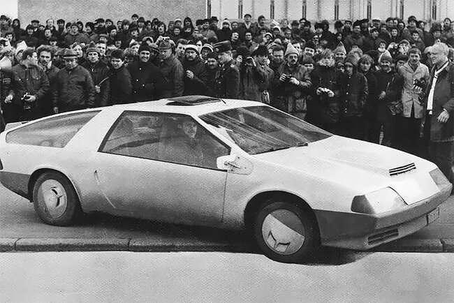 Самые крутые, необычные и быстрые концепт-кары, созданные в СССР-17 фото-