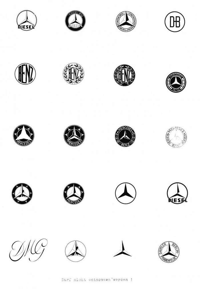 Трехлучевая звезда: история создания эмблемы Mercedes-Benz                      авто