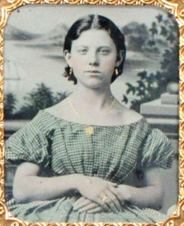 Винтажные фотографии, показывающие, как выглядели девушки-подростки в 1850-х годах                      Интересное