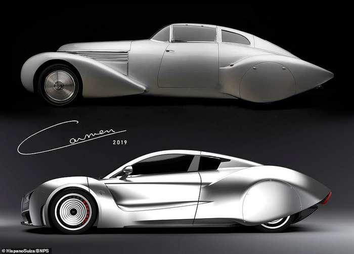 Испанский Rolls Royce представил новый электрический суперкар авто