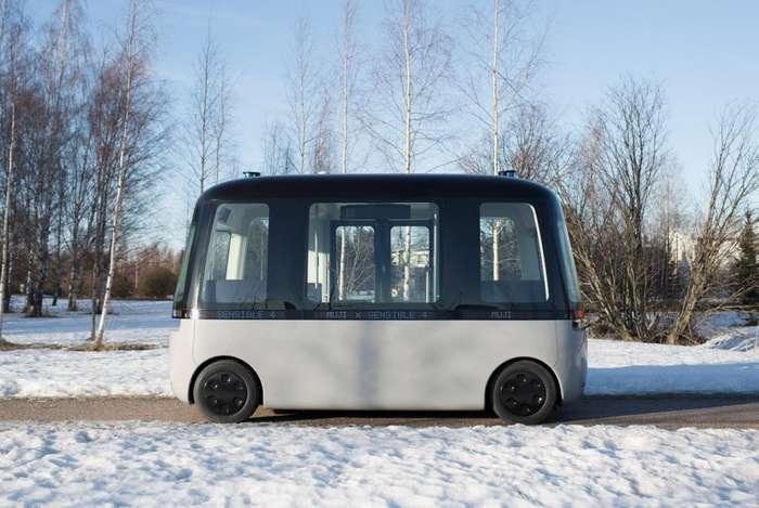В Хельсинки запущен самоходный автобус без водителя авто